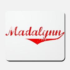 Madalynn Vintage (Red) Mousepad