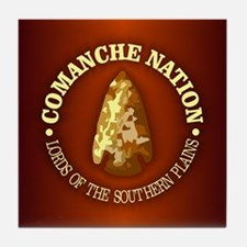 Comanche Nation Tile Coaster
