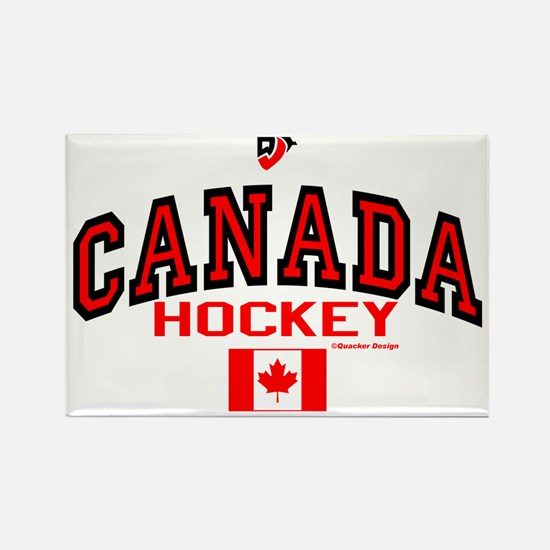 CA(CAN) Canada Hockey Rectangle Magnet
