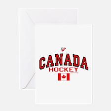 CA(CAN) Canada Hockey Greeting Card