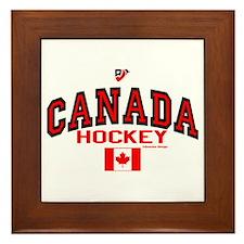 CA(CAN) Canada Hockey Framed Tile