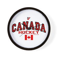 CA(CAN) Canada Hockey Wall Clock