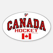 CA(CAN) Canada Hockey Decal