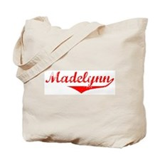 Madelynn Vintage (Red) Tote Bag