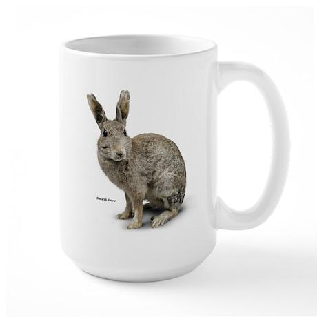 Rabbit Photo Large Mug