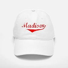 Madisen Vintage (Red) Baseball Baseball Cap