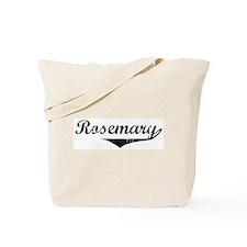 Rosemary Vintage (Black) Tote Bag