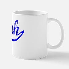 Miah Vintage (Blue) Small Small Mug