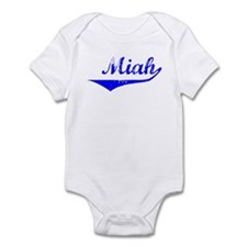Miah Vintage (Blue) Infant Bodysuit