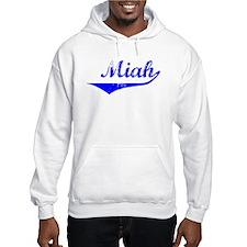 Miah Vintage (Blue) Hoodie Sweatshirt