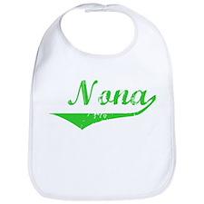 Nona Vintage (Green) Bib