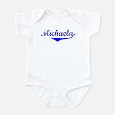 Michaela Vintage (Blue) Infant Bodysuit
