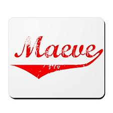 Maeve Vintage (Red) Mousepad