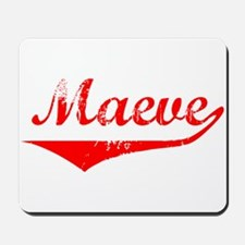 Maeve Vintage (Red) Mousepad