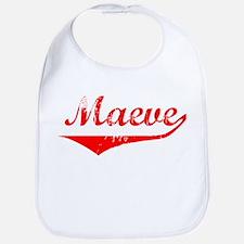Maeve Vintage (Red) Bib
