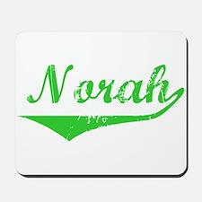 Norah Vintage (Green) Mousepad