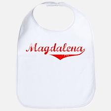 Magdalena Vintage (Red) Bib