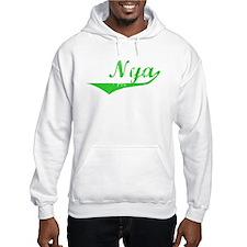 Nya Vintage (Green) Hoodie Sweatshirt