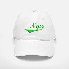 Nya Vintage (Green) Baseball Baseball Cap