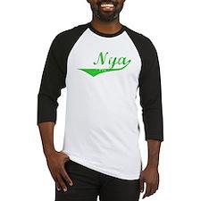 Nya Vintage (Green) Baseball Jersey