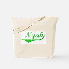 Nyah Vintage (Green) Tote Bag