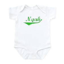 Nyah Vintage (Green) Infant Bodysuit