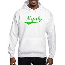 Nyah Vintage (Green) Hoodie Sweatshirt