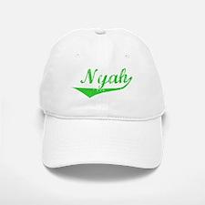 Nyah Vintage (Green) Baseball Baseball Cap