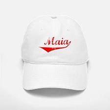 Maia Vintage (Red) Baseball Baseball Cap