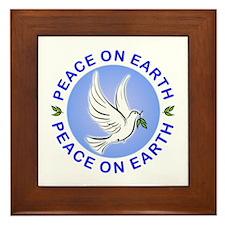 Peace on Earth Framed Tile