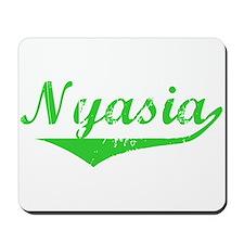 Nyasia Vintage (Green) Mousepad
