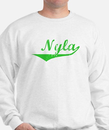 Nyla Vintage (Green) Sweater