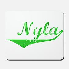 Nyla Vintage (Green) Mousepad
