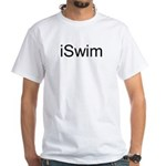iSwim White T-Shirt