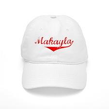 Makayla Vintage (Red) Baseball Cap