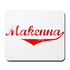 Makenna Vintage (Red) Mousepad