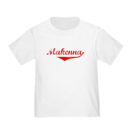 Makenna Vintage (Red) Toddler T-Shirt