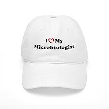 I Love My Microbiologist Baseball Cap