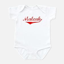 Maleah Vintage (Red) Infant Bodysuit