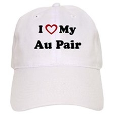 I Love My Au Pair Baseball Cap