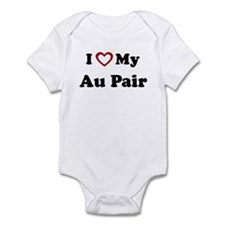 I Love My Au Pair Onesie