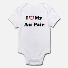I Love My Au Pair Onesie