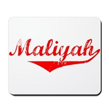 Maliyah Vintage (Red) Mousepad