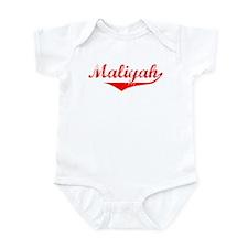 Maliyah Vintage (Red) Infant Bodysuit