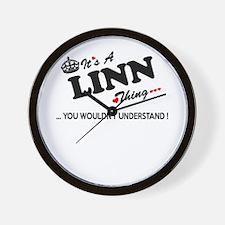 Cool Linning Wall Clock