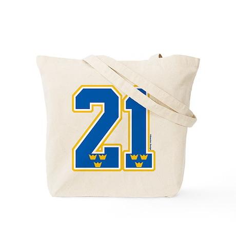 SE Sweden(Sverige) Hockey 21 Tote Bag