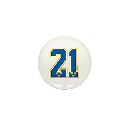 SE Sweden(Sverige) Hockey 21 Mini Button