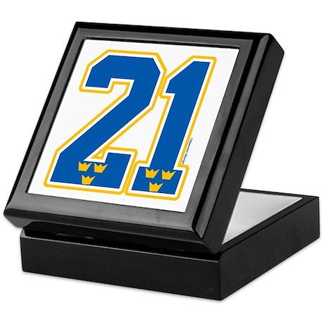 SE Sweden(Sverige) Hockey 21 Keepsake Box