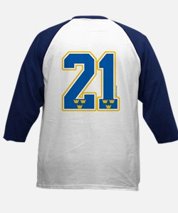 SE Sweden(Sverige) Hockey 21 Kids Baseball Jersey