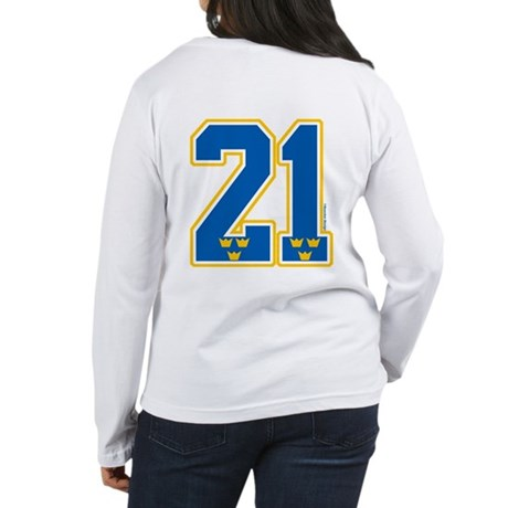 SE Sweden(Sverige) Hockey 21 Women's Long Sleeve T